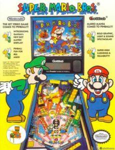 Super Mario Bros pinball