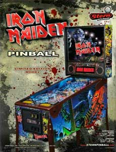 Iron Maiden pinball