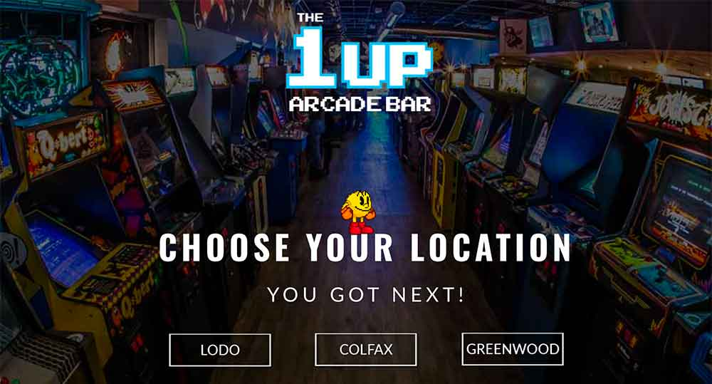 The 1up Arcade Bar | Denver's Best Bar & Arcade | You Got Next
